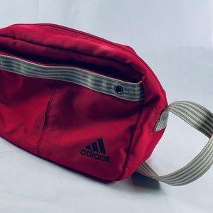 Adidas pink small cross bag